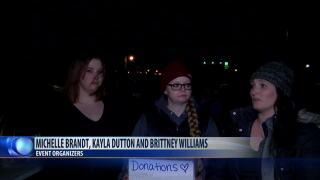 Vigil held for three Great Falls murder victims