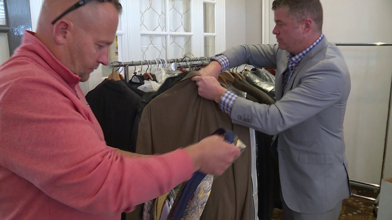 How a non-profit is transforming lives for veterans one suit at a time