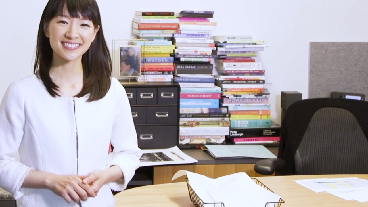 Mothers take the Marie Kondo cleanup challenge