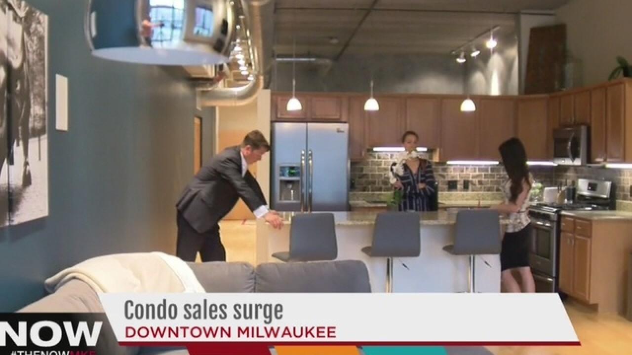 Milwaukee's downtown condo market is heating up