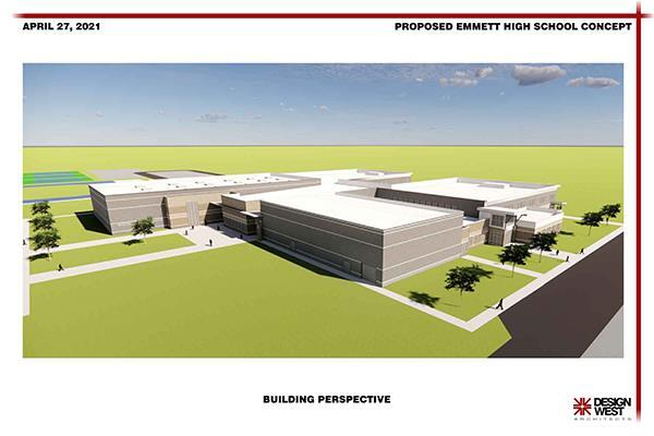 Proposed new Emmett High School