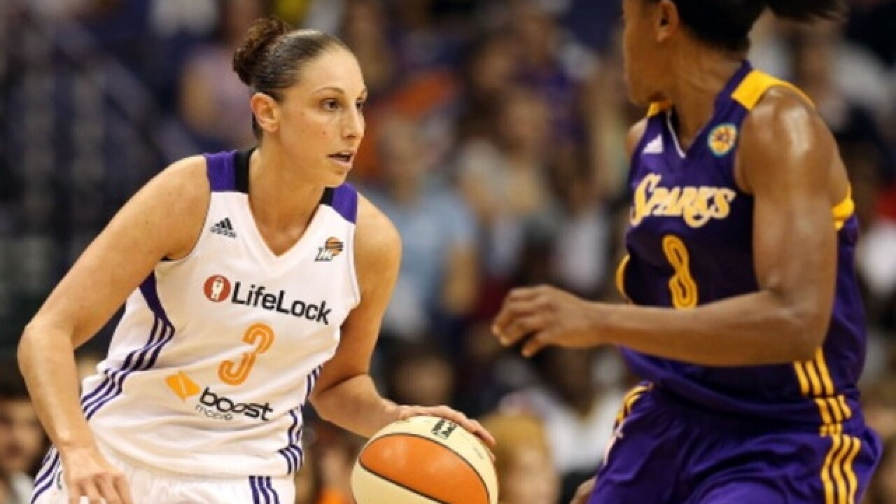 Diana Taurasi of Phoenix Mercury is first WNBA player to reach 8,000 career points