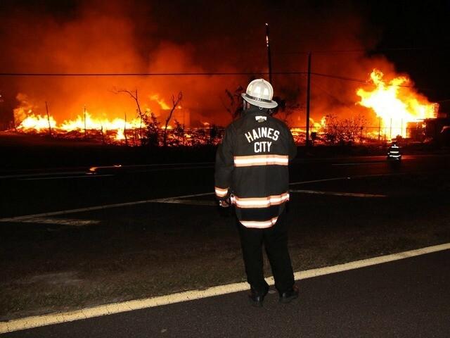 PHOTOS: Crews battle fire at Haines City pallet plant