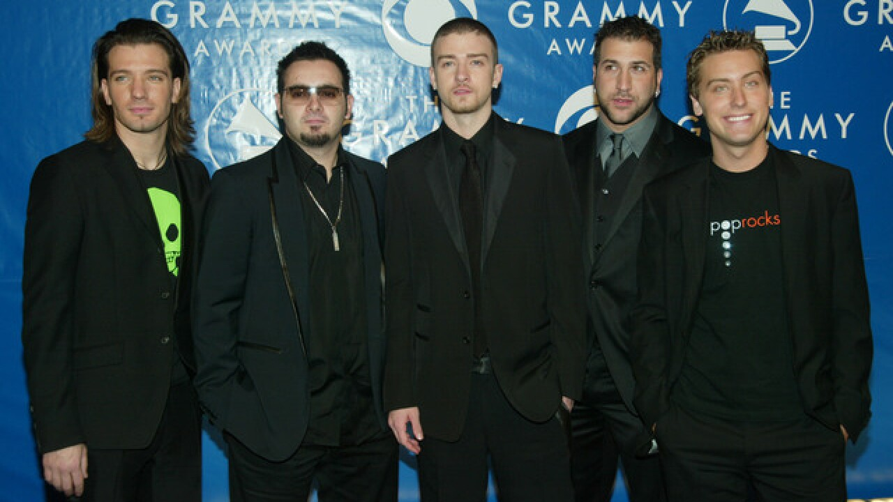 Boy band icons *NSYNC to receive Hollywood Walk of Fame star