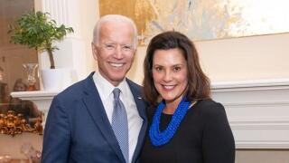 Gov. Whitmer campaigning for Biden in Grand Rapids, Kalamazoo and Benton Harbor