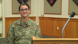 Staff Sergeant Elizabeth Mayhew
