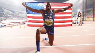 Photos: VIDEO: Chesapeake's Grant Holloway wins World Championship in 110mhurdles