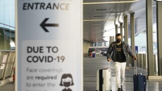 Virus Outbreak Thanksgiving Travel