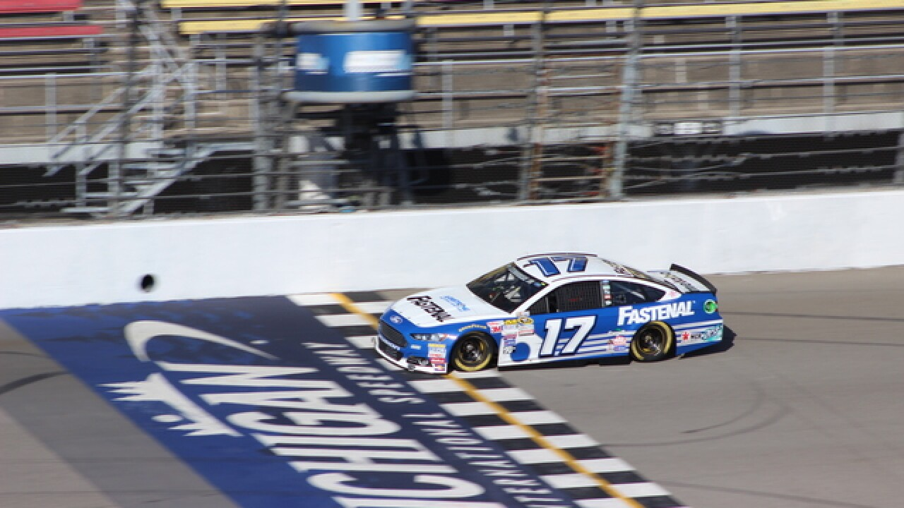 PHOTO GALLERY: NASCAR test at MI Speedway
