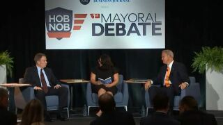 hosett and merritt during first debate.JPG