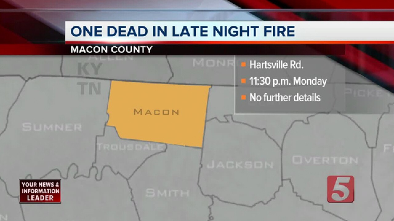 TBI Responds To Fatal Macon County Fire
