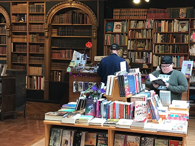 Independent bookstores continue to thrive in an age of online shopping and digital books
