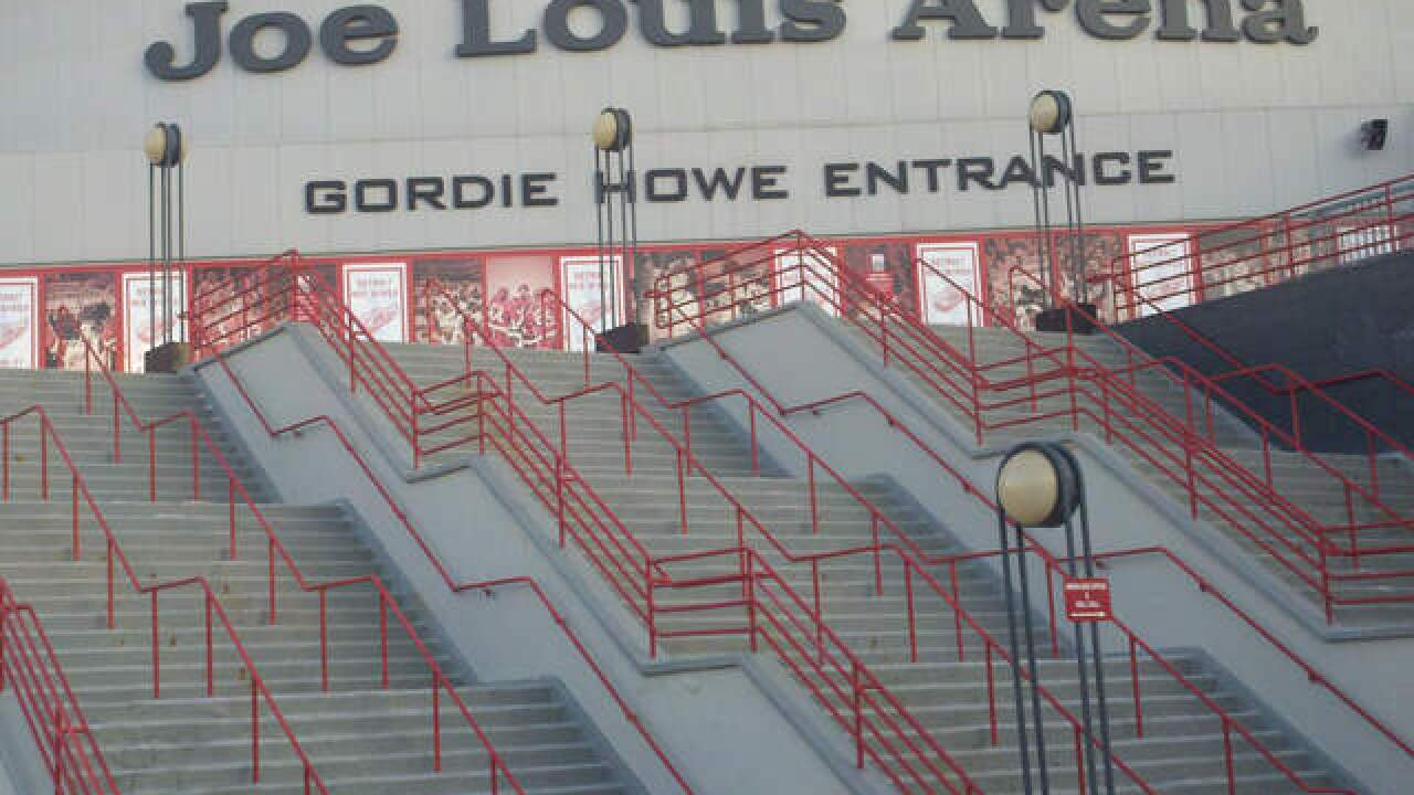 You can buy the entire outdoor Joe Louis Arena sign