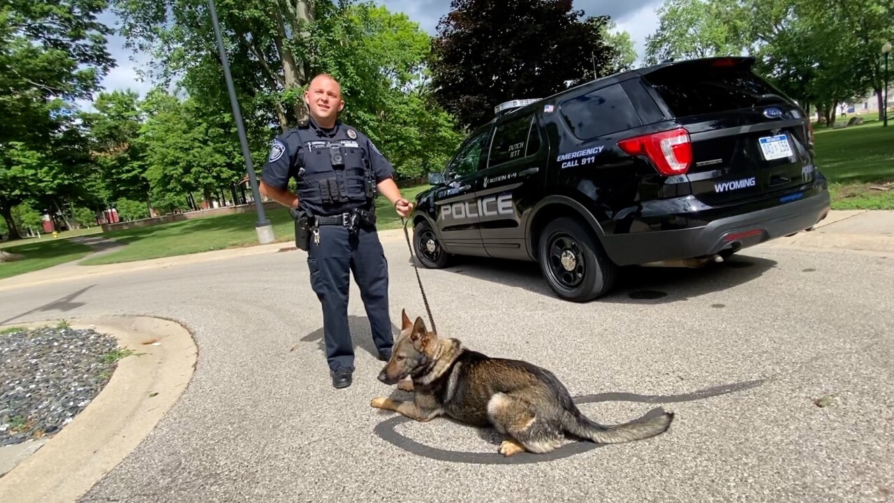 Wyoming Police K9 donation