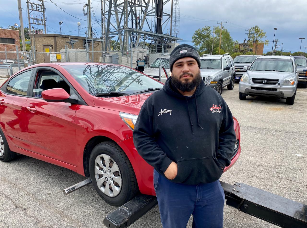 Anthony Gonzalez, Milwaukee mechanic