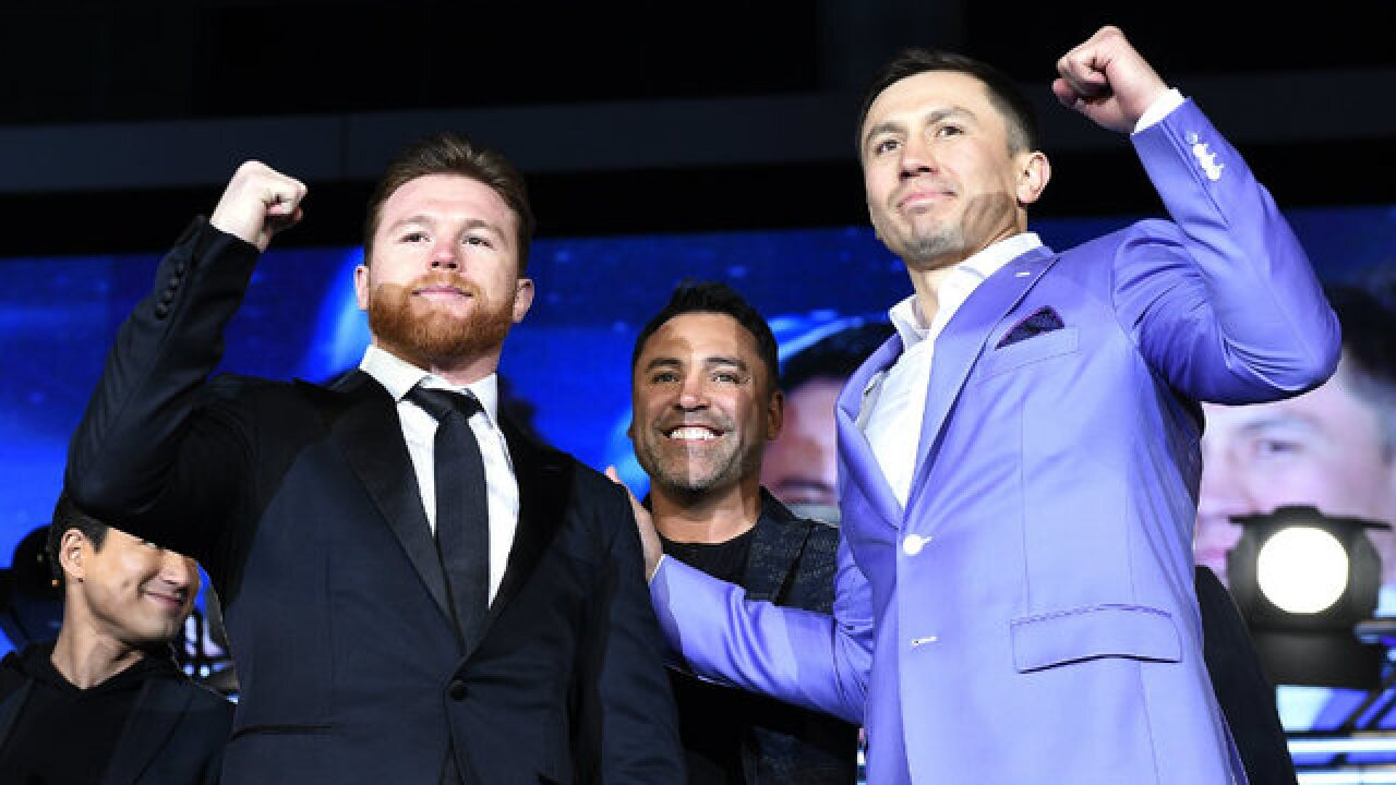 Canelo Alvarez withdraws from May 5 fight with Gennady Golovkin