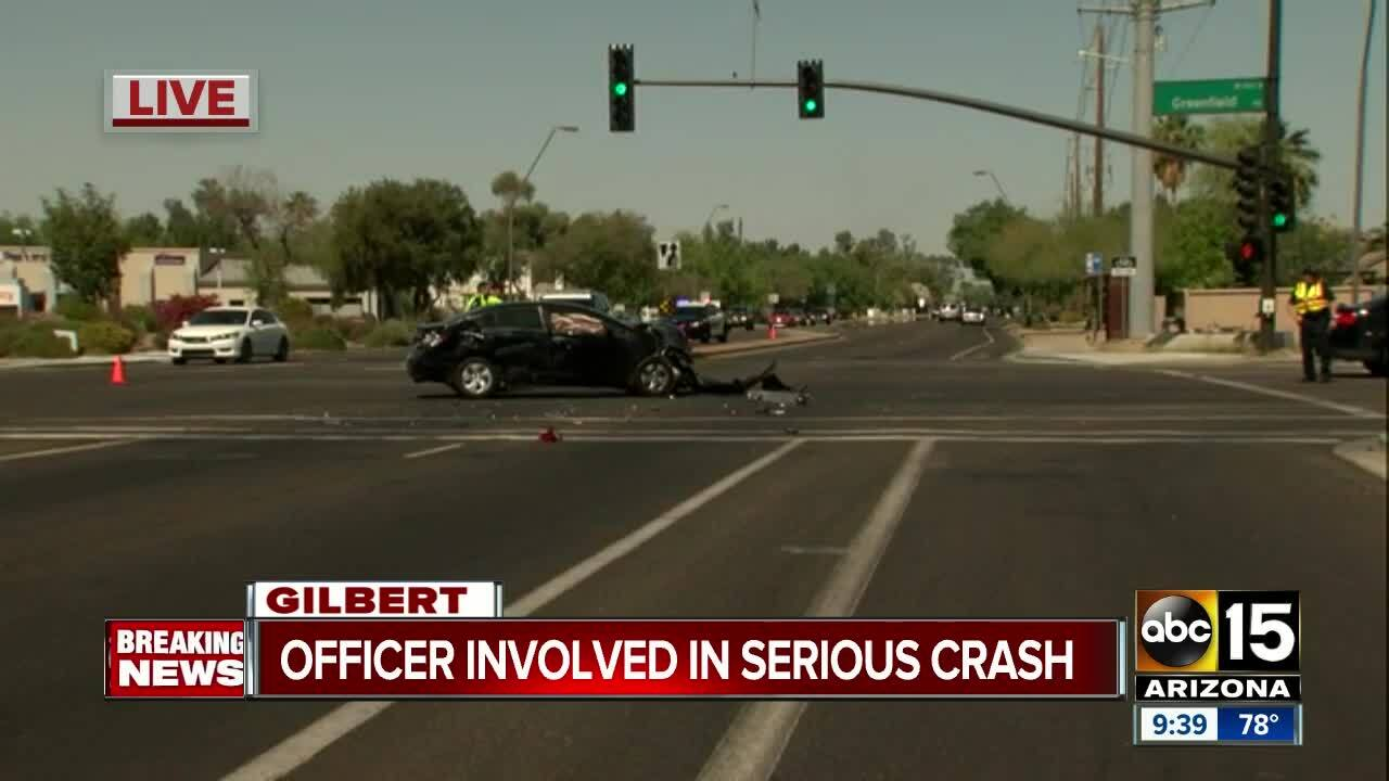 Gilbert Car Accident News Today
