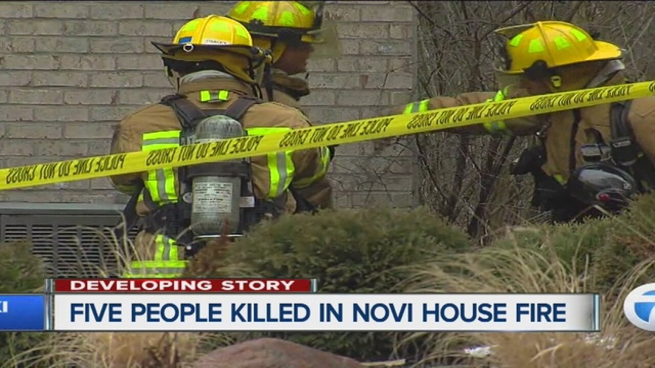 Investigation continues after 5 killed in fire