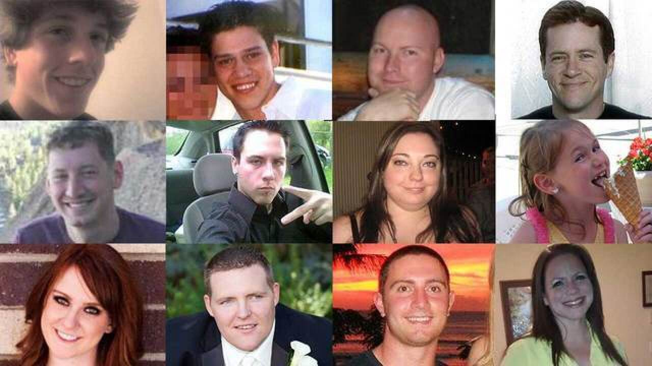 Remembering the 12 victims of the Aurora theater shooting 7 years later