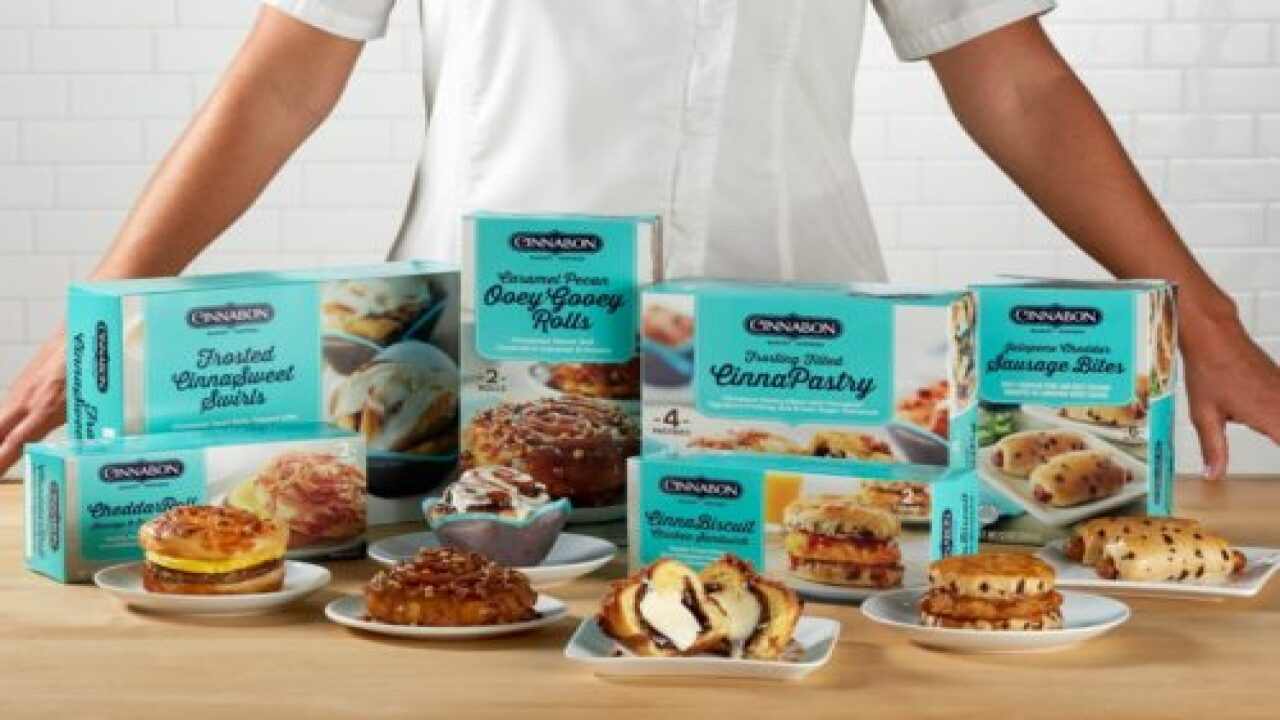 Cinnabon Has A New Line Of Frozen Breakfast Items