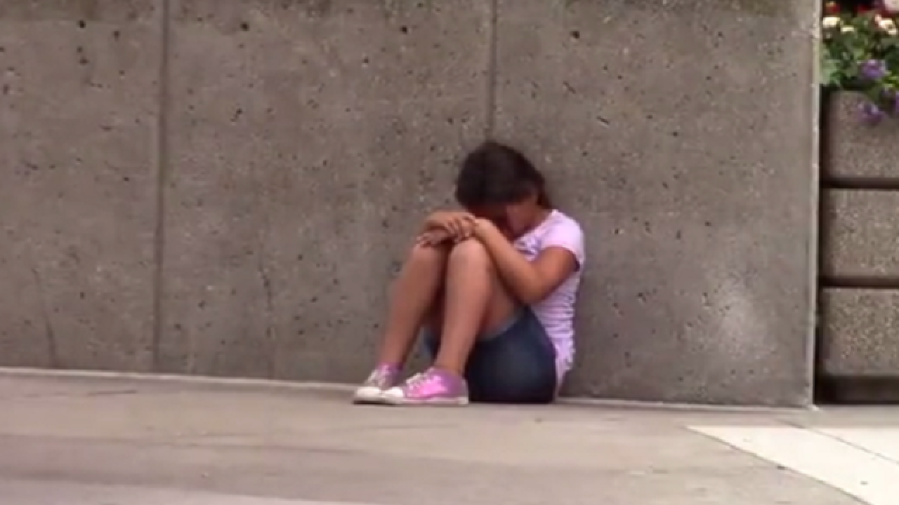 WATCH: Social experiment shows hungry child asking for food