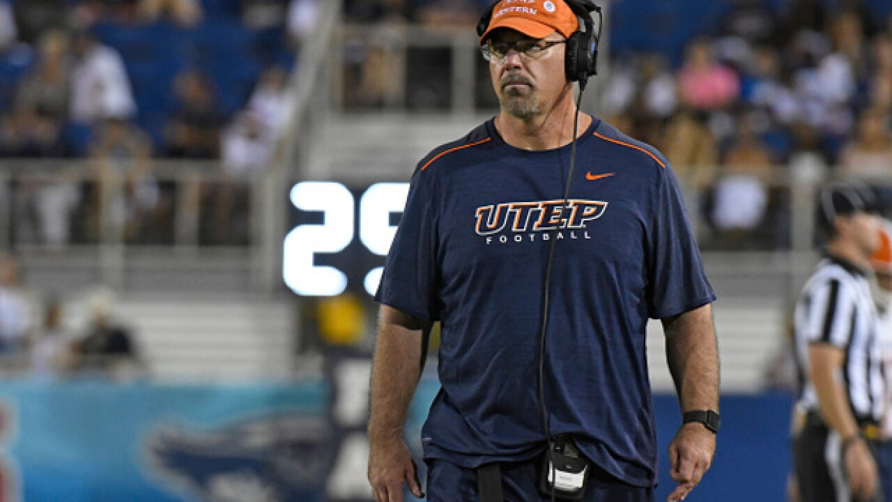 Former Bronco OL Coach Sean Kugler out at UTEP