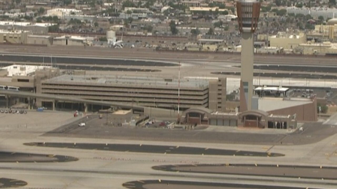 Several flights diverted, delayed at Sky Harbor after Wednesday's monsoon storm