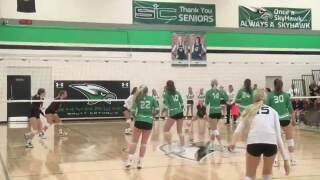 High School Volleyball: Omaha Skutt vs. Columbus