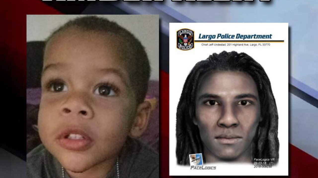 Amber Alert issued for missing boy, 2