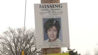 Aundria Bowman Missing Poster