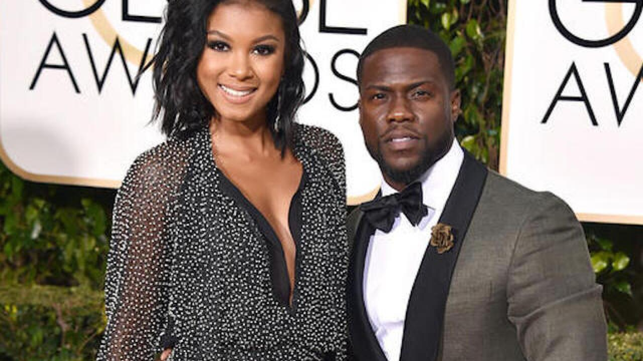 Kevin Hart marries longtime girlfriend Eniko Parrish