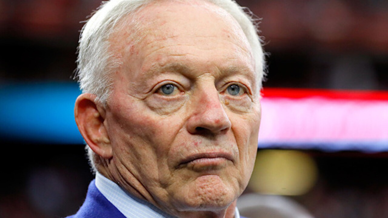 Jerry Jones: Dallas Cowboys owner says Trump 'problematic' for NFL