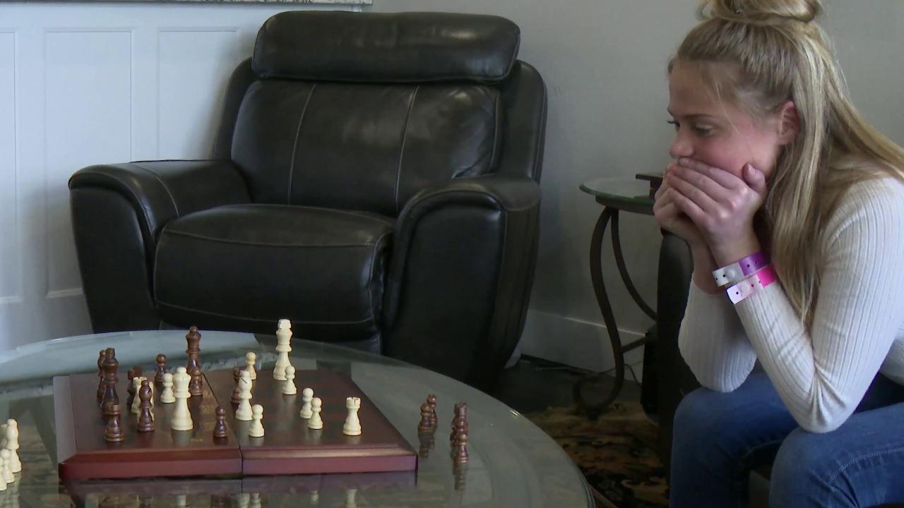 Ashton qualified for the national K-8 chess tournament