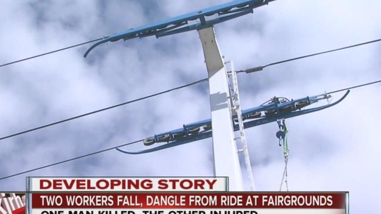 1 dead, 1 injured after hanging from Sky Ride