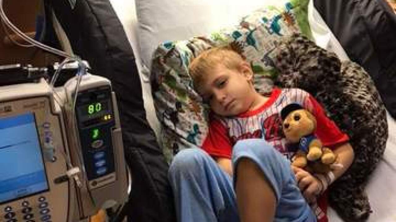 Athletes rally around coach, son with cancer
