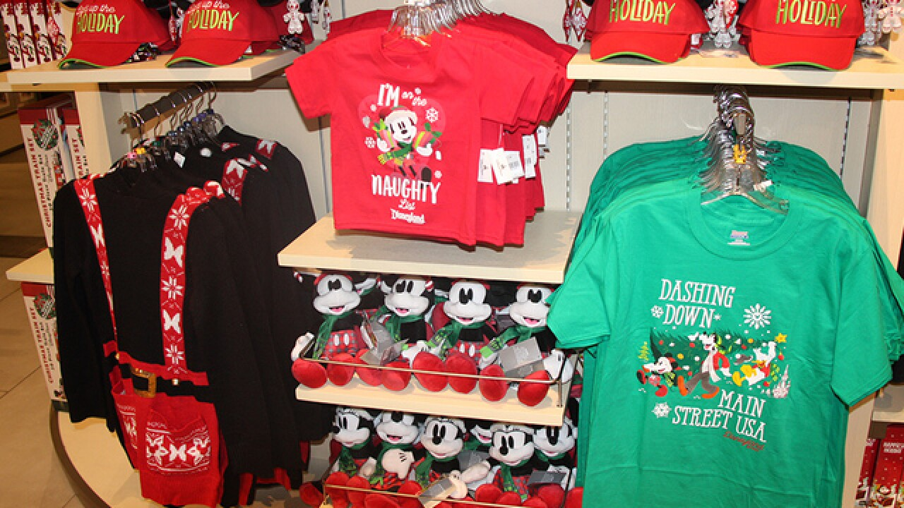 Disney unveils 2018 holiday season merchandise