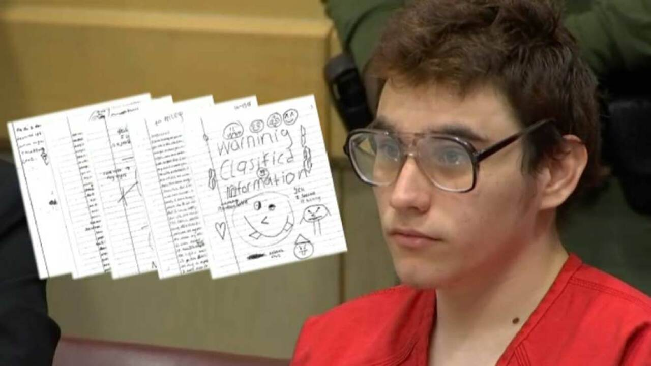 The confessed Parkland shooter's letters he wrote from jail have been released.