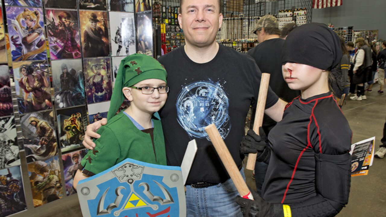 PHOTOS: Queen City Comicon 2016