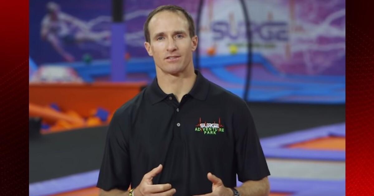 Drew Brees To Bring Surge Entertainment Center To Lafayette