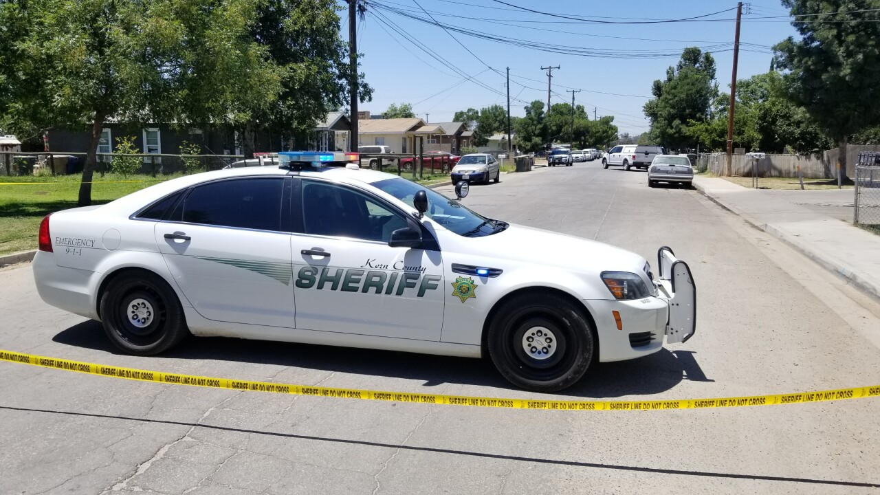 Kern County Sheriff's Office (KCSO) Patrol Car (FILE)