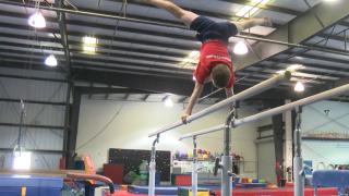 Peter Davis-Ross at Central Coast Gymnastics