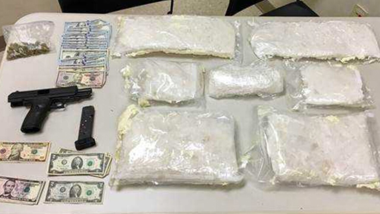18 Pounds Of Crystal Meth Found In Undercover Drug Bust