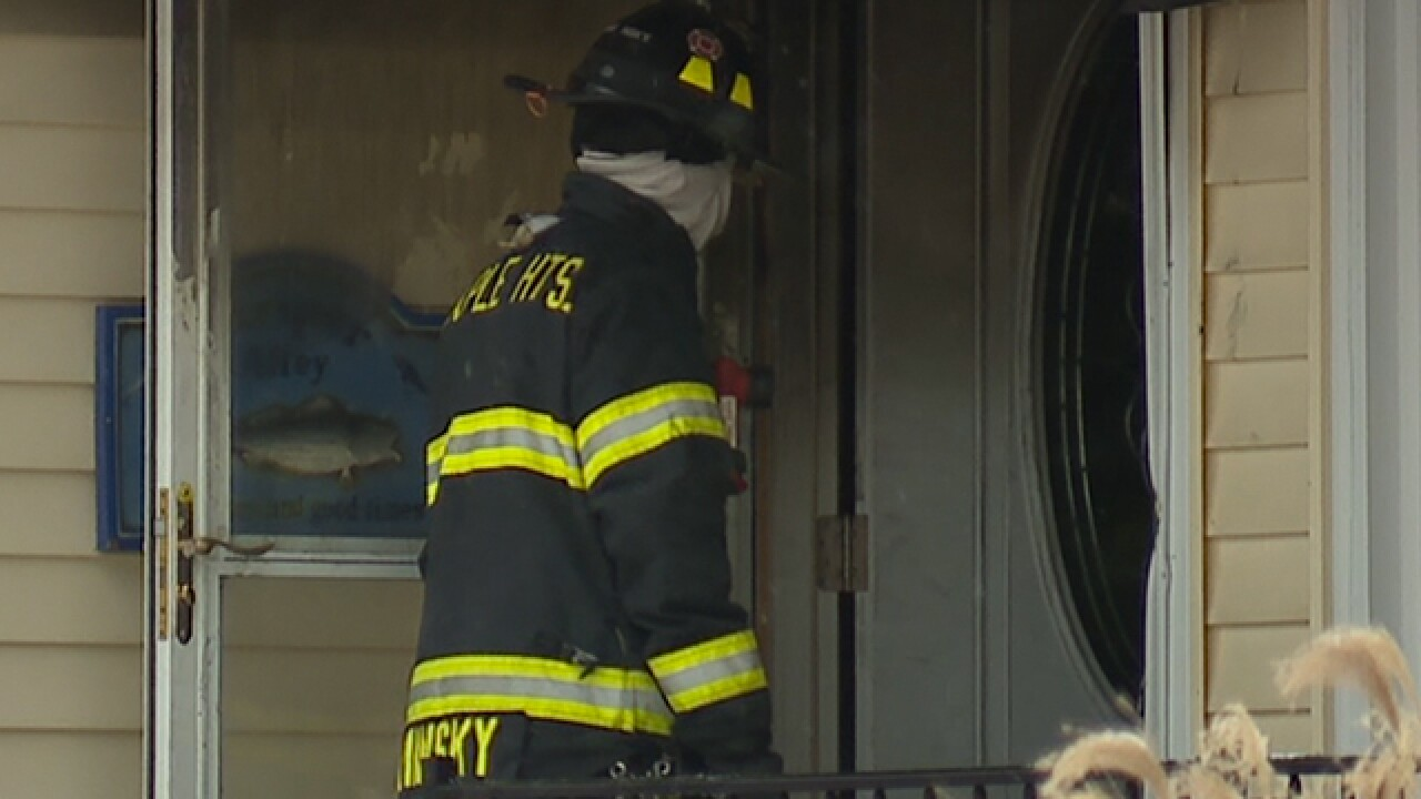 One person killed in Maple Heights house fire