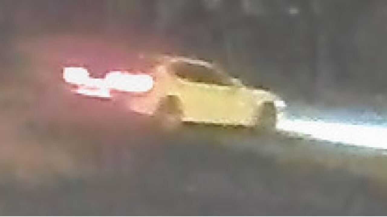 hit and run vehicle of interest