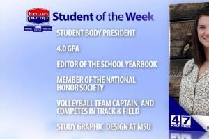 Student of the Week: Tessa Lamb