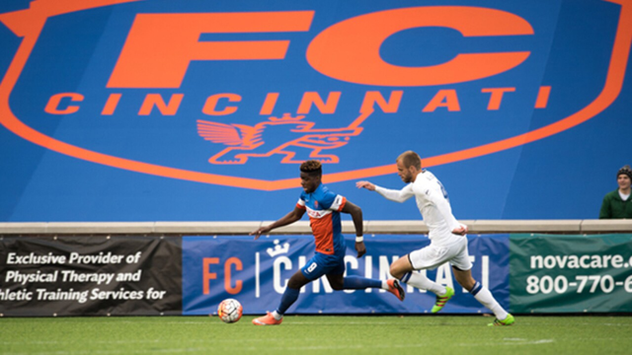 FC Cincinnati players using time off from the field to give back to the community that supports them