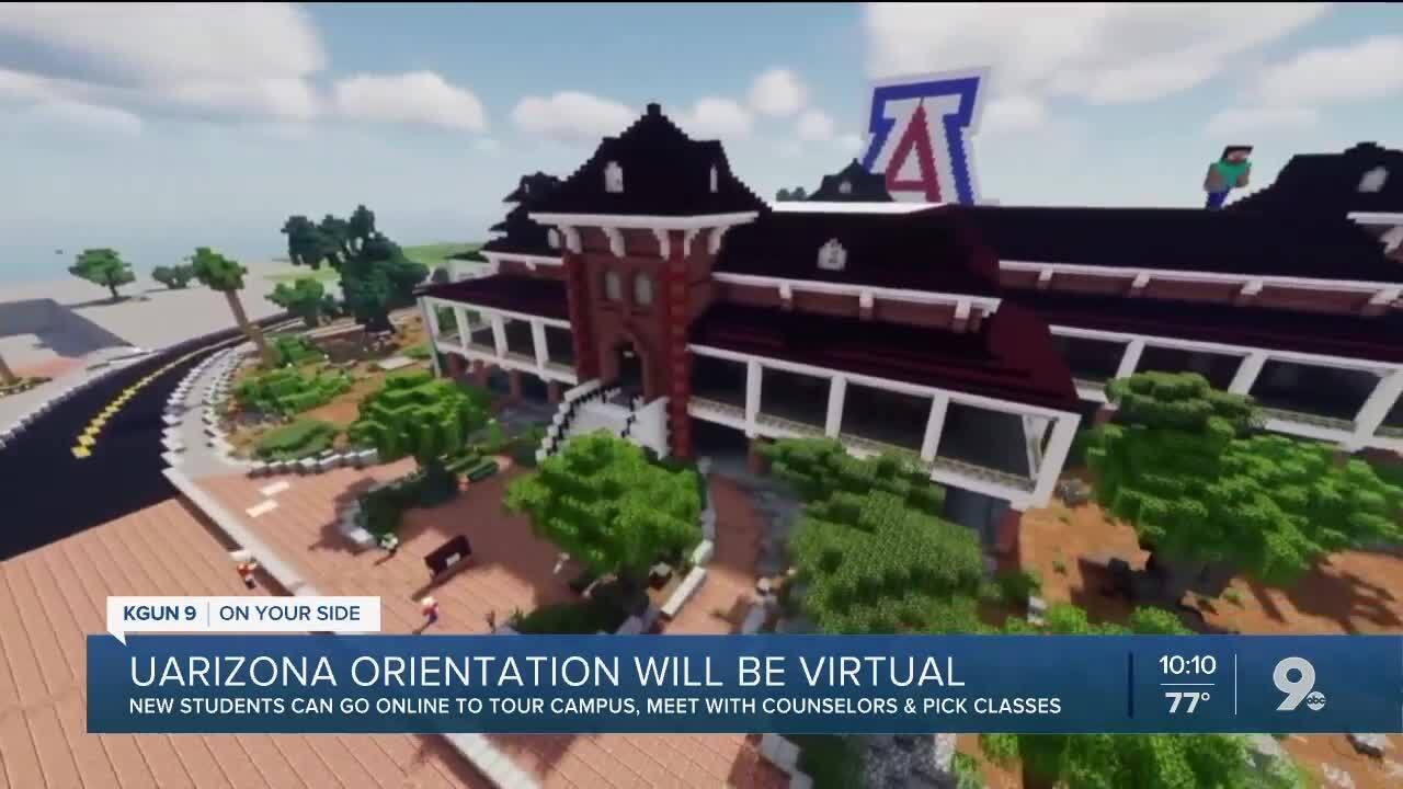 UArizona new student orientation will be virtual