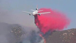 Pasqual Fire in North County nears full containment