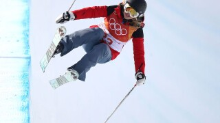 Elizabeth Swaney: Skier finds loophole to become Olympian