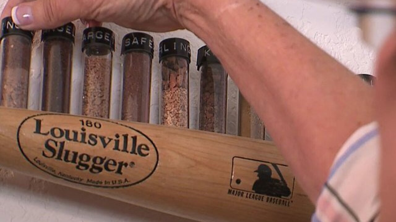 Die-hard baseball fan collects dirt from all 30 MLB stadiums